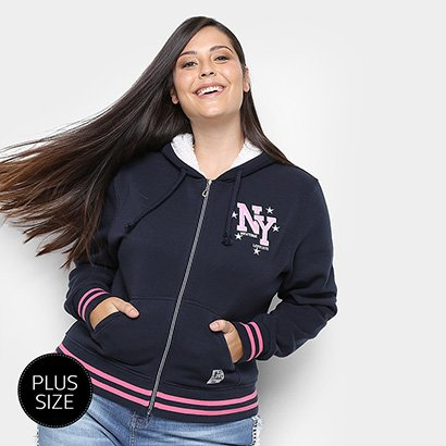 Moletom City Lady Plus Size Feminino-Feminino