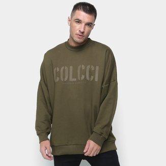 Moletom Colcci Básico Logo Original Concept Masculino