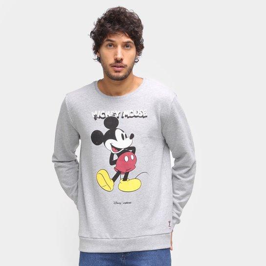 Moletom Colcci Disney Mickey Masculino - Mescla