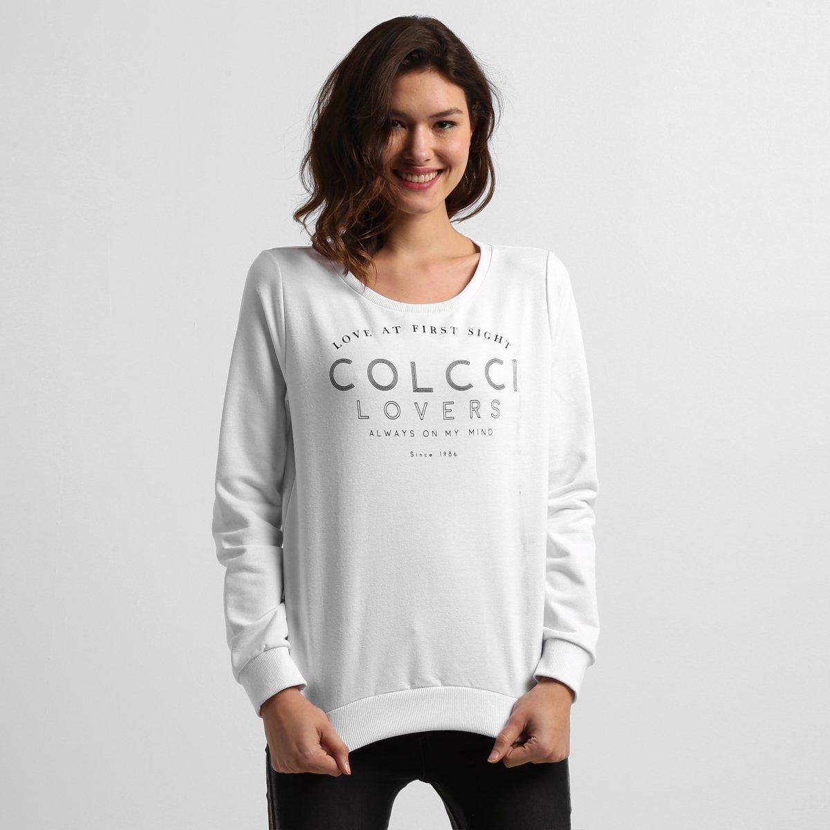 ce6e1063de Moletom Colcci Estampado - Compre Agora