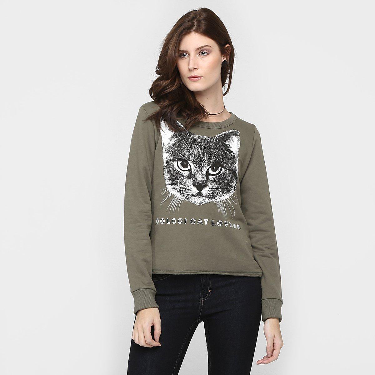 3130fd360 Moletom Colcci Gato - Compre Agora | Zattini