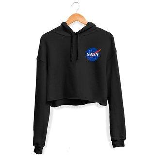 Moletom Cropped NASA Feminino UseThuco