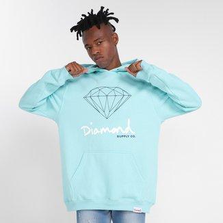 Moletom Diamond Sign Canguru Masculino