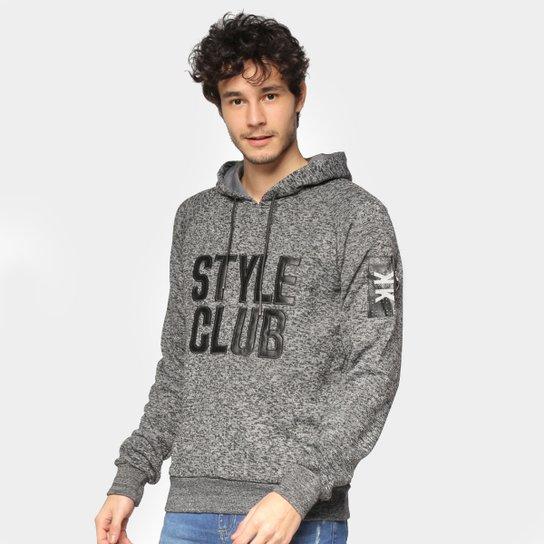 Moletom Eagle Rock Style Club Masculino - Preto