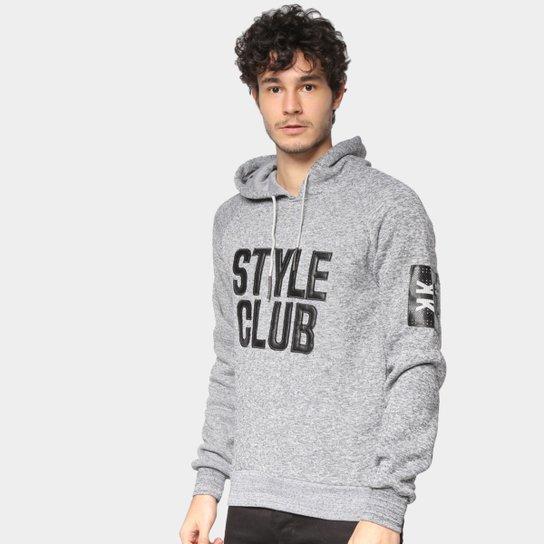 Moletom Eagle Rock Style Club Masculino - Cinza