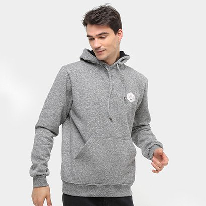 Moletom Hang Loose Label Canguru Masculino