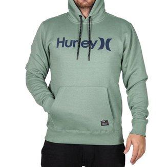 Moletom Hurley Fechado O&O Solid Masculino Verde