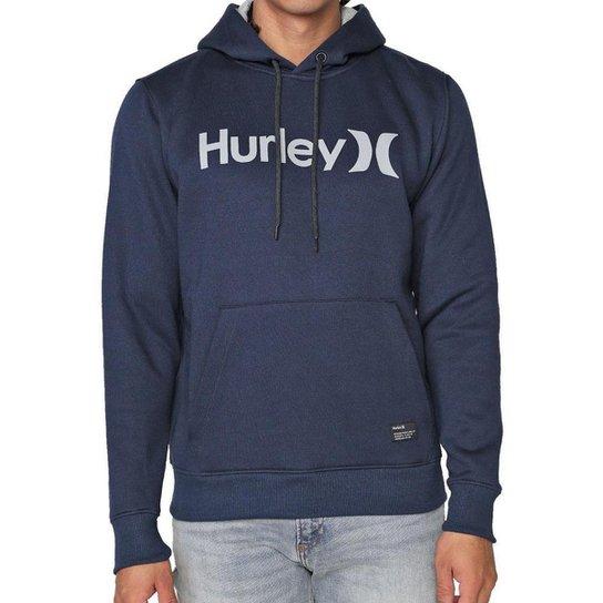 Moletom Hurley Fechado O&O Solid Masculino - Marinho