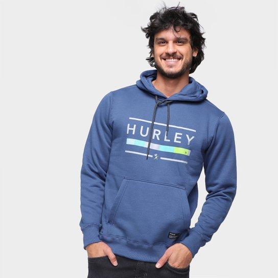 Moletom Hurley Jockey C/ Capuz Masculino - Marinho