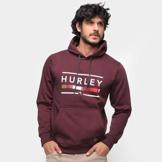 Moletom Hurley Jockey C/ Capuz Masculino