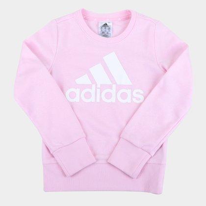 Moletom Infantil Adidas Essentials Big Logo Feminino