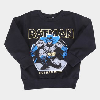 Moletom Infantil Brandili Batman Masculino
