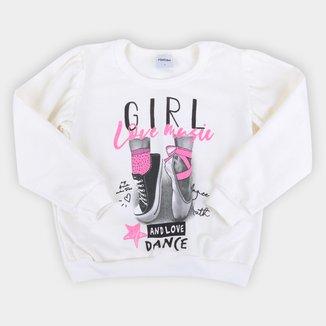 Moletom Infantil Rovitex Dance Feminino