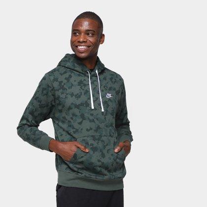 Moletom Nike Club Camuflado Masculino