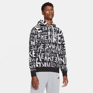 Moletom Nike Sportwear Club BB Hoa Printed A Masculino