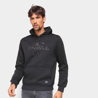Moletom O'Neill Logo Canguru Masculino