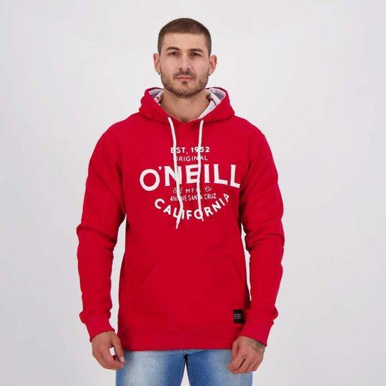 Moletom O'Neill Stuffy Vermelho - Vermelho