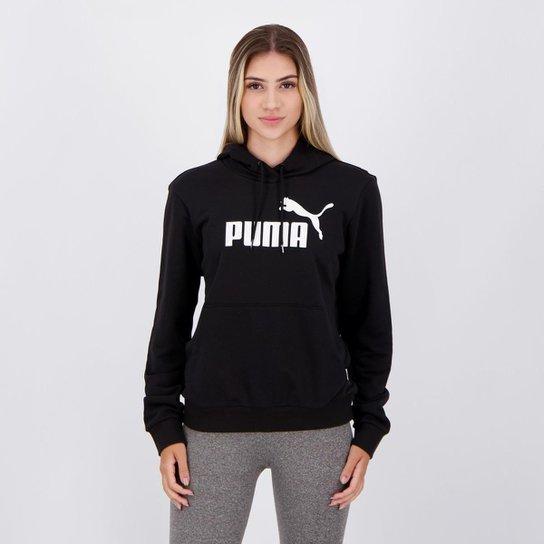 Moletom Puma ESS TR Feminino - Preto