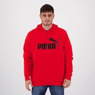 Moletom Puma Essentials Big Logo Vermelho