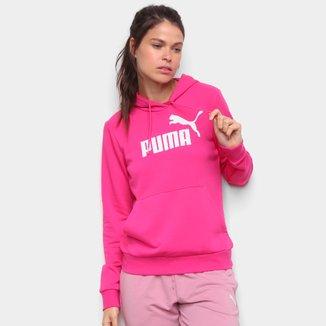 Moletom Puma Essentials Hoodie Canguru Feminino