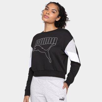 Moletom Puma Rebel Crew Feminino