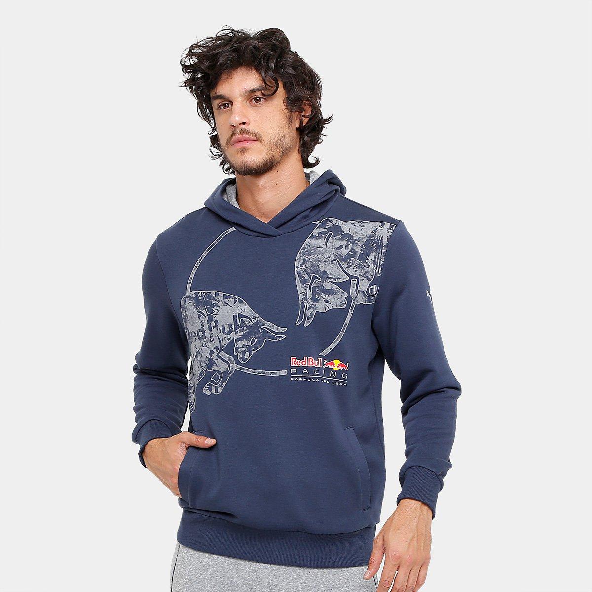 0a793902c8d Moletom Puma Red Bull Racing Graphic Masculino - Compre Agora