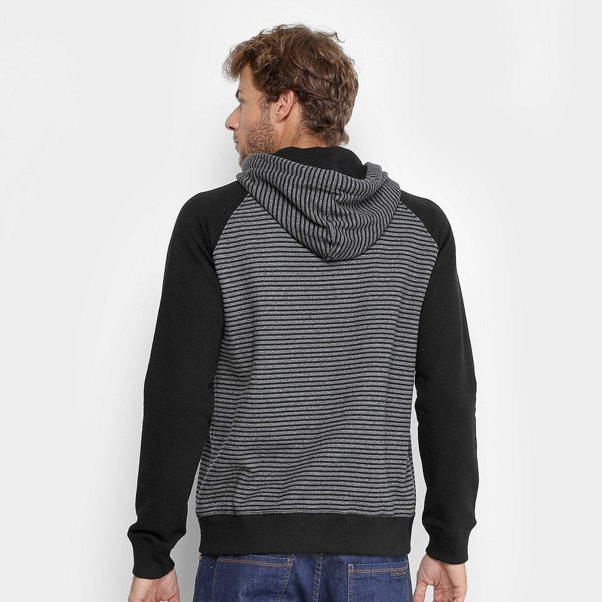Moletom Quiksilver Especial Stripes Hood Masculino  Moletom Quiksilver  Especial Stripes Hood Masculino ... eb5ea08d30