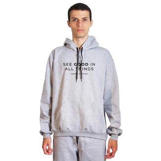Moletom Sandro Clothing See Good Masculino