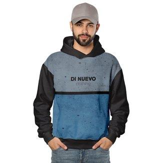 Moletom Street Wear com Capuz Di Nuevo Masculino