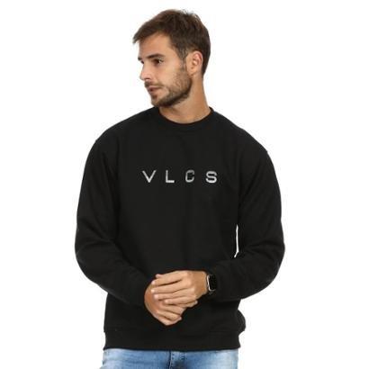 Moletom VLCS Gola Careca Fechado Masculino