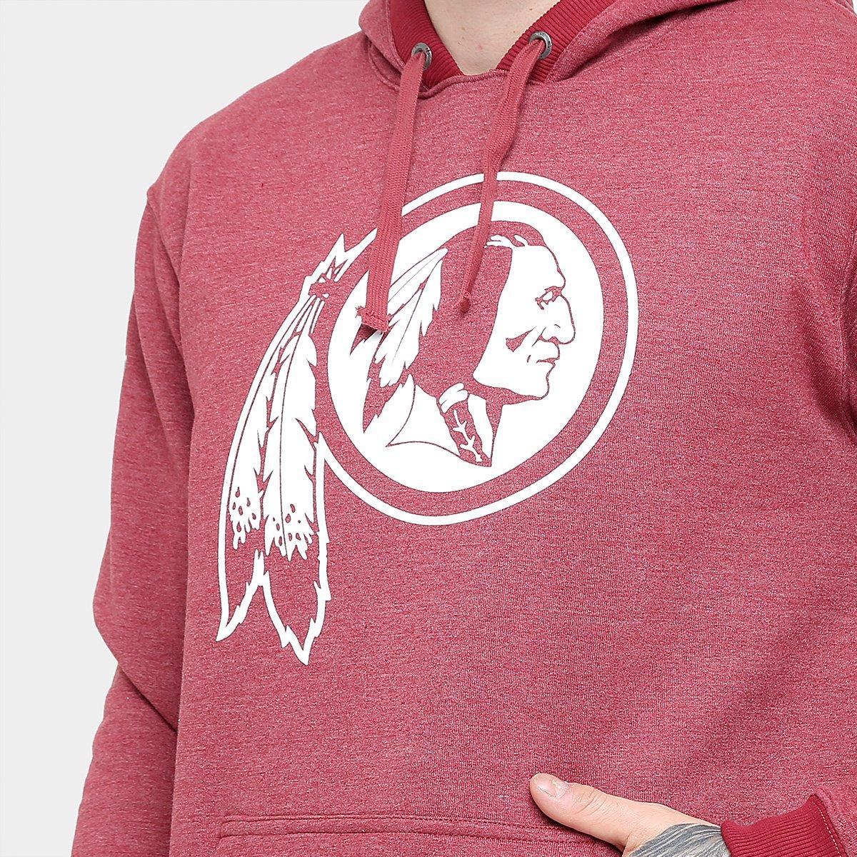 Moletom Washington Redskins New Era NFL Full Masculino - Compre ... d3f8777b7668d