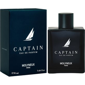 Molyneux Perfume Masculino Captain EDP 50ml