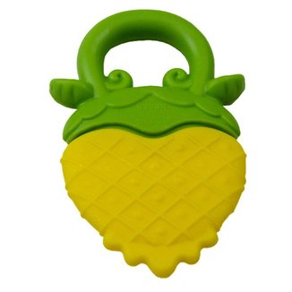 Mordedor Abacaxi Bêbe Nuby  Amarelo/Verde