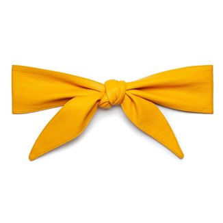 Morena Rosa Cinto Morena Rosa Cintura Largo Com Amarração Color Amarelo
