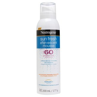 Mousse Efervescente Neutrogena Sun Fresh FPS 60 200ml