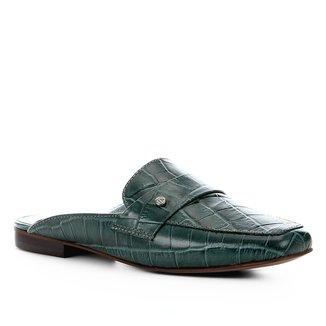 Mule Couro Shoestock Croco