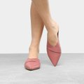 Mule Couro Shoestock Flat Strappy