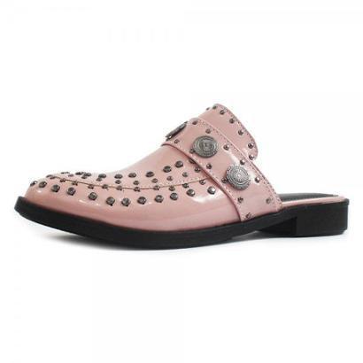Mule Damannu Shoes Nicky Candy Verniz