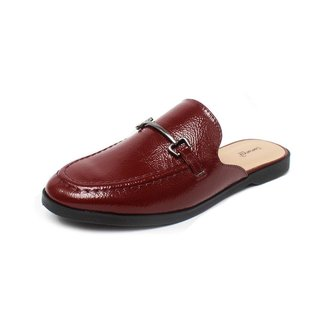 Mule Damannu Shoes Vicky Verniz Feminino