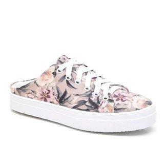 Mule JL Shoes Estampado Primavera Verão Conforto Feminino