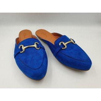 Mule Mocassim Camurça Tamanho Especial Le scarpe di Bruna -