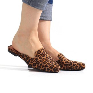 Mule Sapato Casual Confortavel Estiloso - Onca