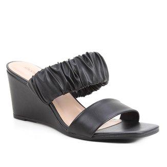 Mule Shoestock Anabela Soft