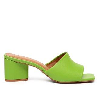 Mule Shoestock Basic Salto Bloco