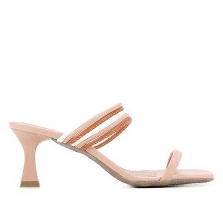 Mule Shoestock Color Salto Médio