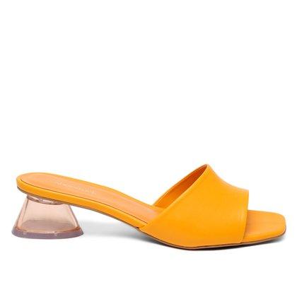 Mule Shoestock Salto Acrilico