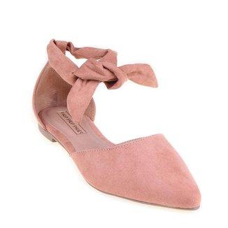 Mule Shop Shop Shoes Amarração Feminino