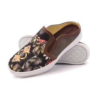 Mule Su Fashion Store Slip on Floral Tropical Masculino