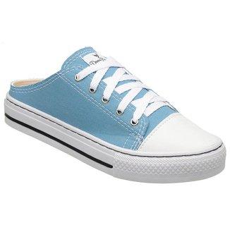 Mule Top Shoes Feminino Cadarço Leve Confortável Casual