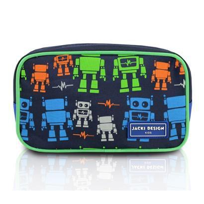 Necessaire Infantil Jacki Design Robô Microfibra Masculino